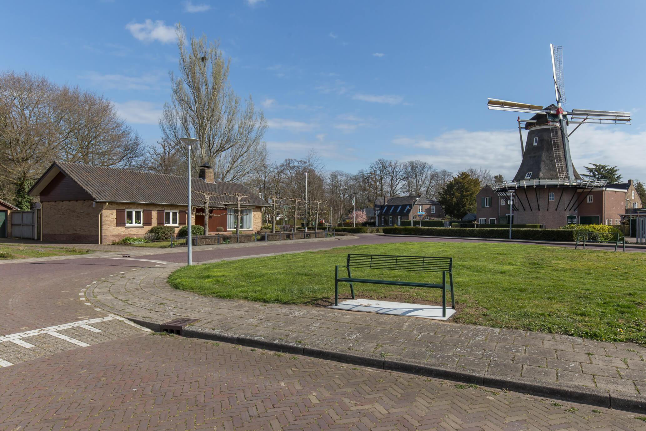 Vrijstaande (semi)bungalow met fraai uitzicht op Vordense molen